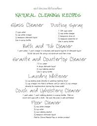 natural cleaning u2013 do it on a dime