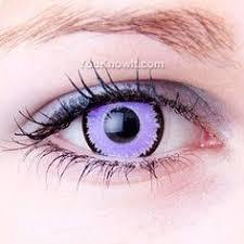 violet uv contact lenses halloweenie uv contact