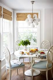 round country dining table breakfast nook ideas transitional dining room laura round breakfast