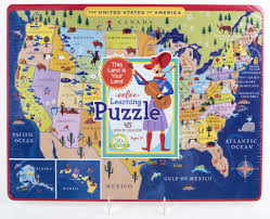 Map Puzzle Usa by Just For Kids Usa Map Learning Puzzle Ages 5 The Store At Lbj
