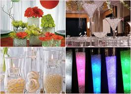 wedding centerpiece ideas water diy wedding decoration ideas