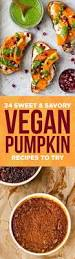 31 sweet and savory pumpkin recipes with no meat or dairy