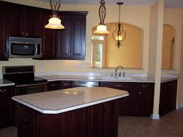 Red Mahogany Kitchen Cabinets White Kitchen Cabinets With Creme Countertop The Perfect Home Design