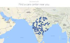 Map Service Center Nokia Mobile Care Center Locator Now Available Nokiamob