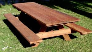 Free Plans Round Wood Picnic Table by Table Picnic Table To Bench Seat Amazing Picnic Table Designs
