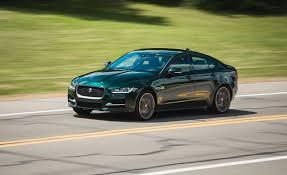 xe lexus sedan 2017 jaguar xe long term test update review car and driver