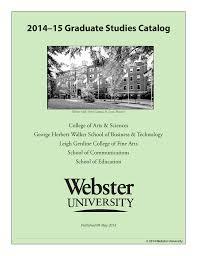 2014 u201315 graduate studies catalog