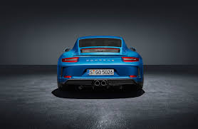 porsche blue gt3 porsche 911 gt3 touring pack revealed by car magazine