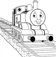 thomas train colouring pages funycoloring