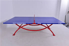 used outdoor table tennis table for sale competition 50mm round double pipe used outdoor ping pong tables