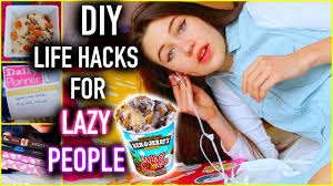diy life hacks for lazy people you need to know youtube
