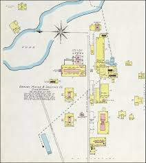 Granby Colorado Map by Pittsburg Scenes Smelting