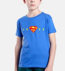 children s christian print jesus t shirt in god s