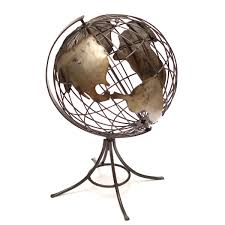 Gazing Ball And Stand Sundial Stand With Gazing Ball Rustic Arrow