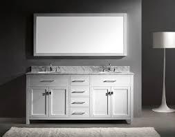 virtu 72 inch caroline bathroom vanity white