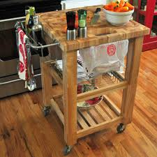 Chris  Chris Pro Chef Kitchen Cart  Reviews Wayfair - Kitchen cart table