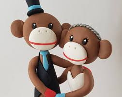 monkey wedding etsy