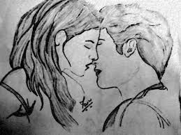 love couple pencil art pencil drawing collection