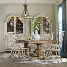 Hooker Furniture Sanctuary Brighton  Piece Dining Set With - Hooker dining room sets