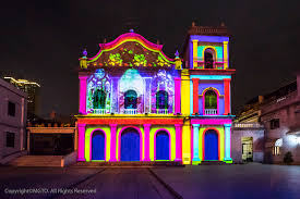 the lights fest ta 2017 macao awash in colour for amor macau december light festival