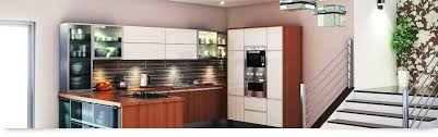 Modular Kitchens by Appealing Hall Way Decoration With Clear Glass Floor And Cubical