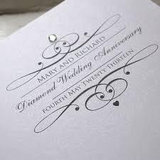 60th wedding anniversary invitations sparkle anniversary invitations by the partridge