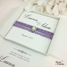 Box Wedding Invitations Luxury Wedding Invitations Crystal Wedding Invitations Elegant