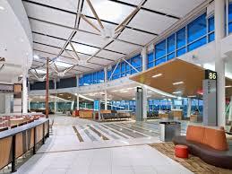 interior lighting design edmonton international airport lighting design stantec