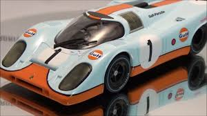 gulf porsche 917 carrera digital 132 porsche 917 gulf 30749 youtube