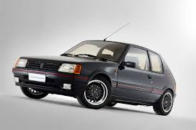 peugeot 205 peugeot italy restores 205 gti 1 9 gutmann adds it to press fleet