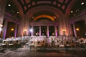 cleveland wedding venues cleveland wedding uplighting the cleveland courthouse