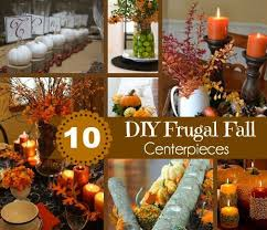 fall centerpieces 10 diy frugal fall centerpieces to create the tablescape