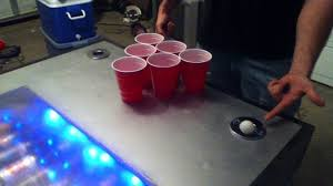 custom beer pong tables auto ball washer beer pong table made in texas youtube