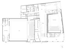 theater floor plan gallery of comedie de bethune national drama theater manuelle