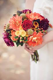 Fall Flowers For Wedding Fall Wedding Bouquet E A Vicino Floral Design