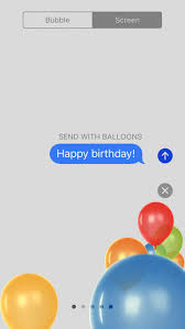 send balloons how to send balloons and other screen effects in ios 10 messages