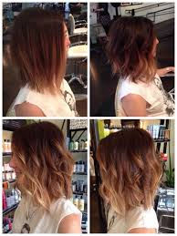 red brown long angled bobs 30 cute daily medium hairstyles 2018 easy shoulder length hair