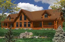 free log home plans designs