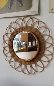 miroir jardin d ulysse 25 melhores ideias de miroir en rotin no pinterest miroir