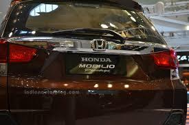 Interior Mobilio Honda Mobilio Prestige Rear Chrome Garnish Desktop Wide Cool Car