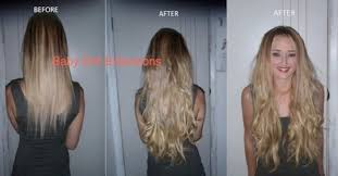 baby doll hair extensions before after baby doll hair extensions 185gram clip in human