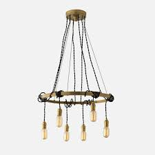 Schoolhouse Chandelier Tangled Chandelier Brass Schoolhouse Electric