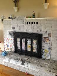 Whitewashing A Fireplace by 7 Best Fireplace Makeover Images On Pinterest Fireplace Ideas