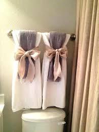 Bathroom Towel Ideas Decorative Bath Towels Gorgeous Bathroom Fancy Towel Folding With