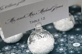 ornament place card holders lights decoration