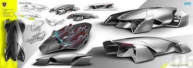 future lamborghini 2050 design portfolio