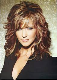 medium length hair with lots of layers length layered hairstyles with bangs for hair