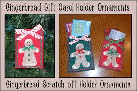 sher s creative space tutorial gingerbread gift card ornaments