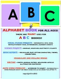 abc book templates for all ages by ruth s teachers pay teachers