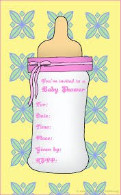 baby shower clipart for invitations clipartfest